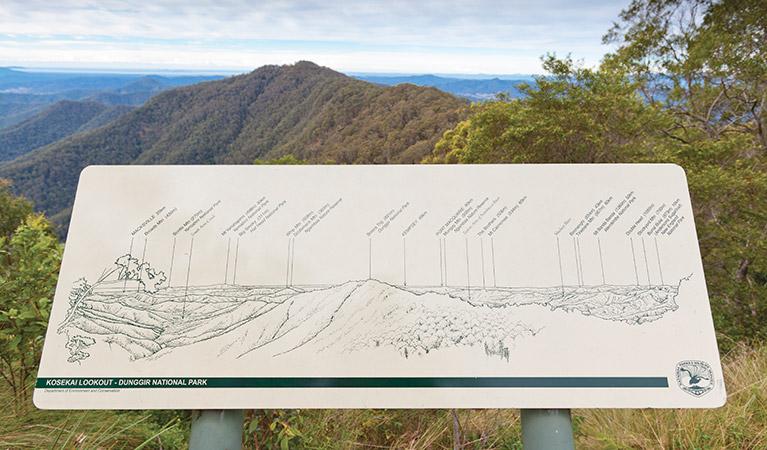 Kosekai Lookout, Dunggir National Park